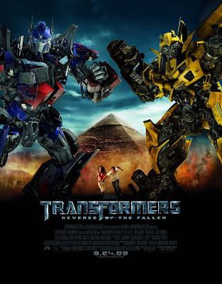 Transformers 2 Revenge of the Fallen film poster