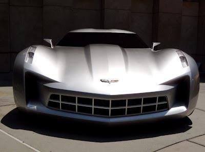 Transformers 2 Autobot Sideswipe Corvette Stingray Concept car