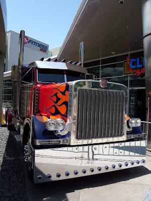 Transformers 2 Autobot leader Optimus Prime truck