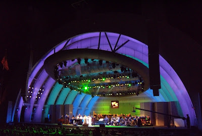 Aretha Franklin Hollywood Bowl performs 26 Jun 09