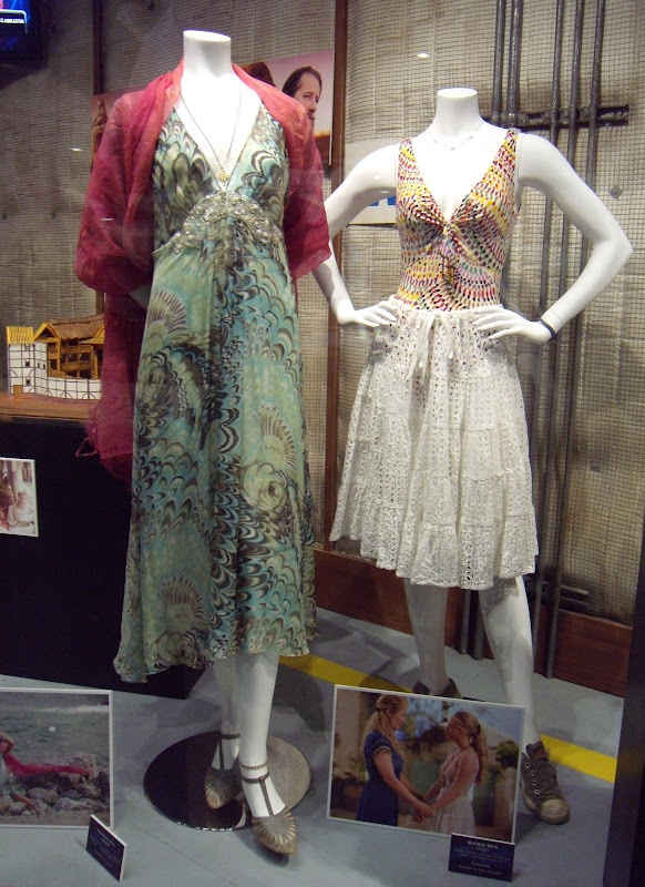 Meryl Streep and Amanda Seyfried Mamma Mia movie costumes