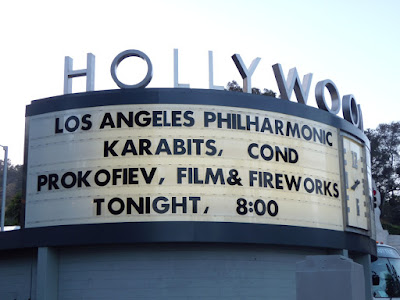 Hollywood Bowl Prokofiev, film and fireworks concert