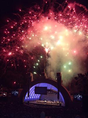 Hollywood Bowl Prokofiev fireworks spectacular