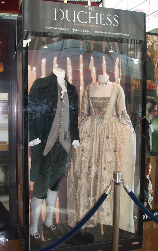The Duchess 18th century period movie costumes