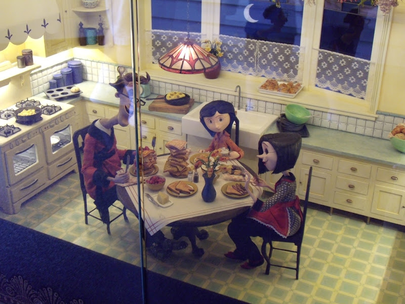Animation models from Coraline movie
