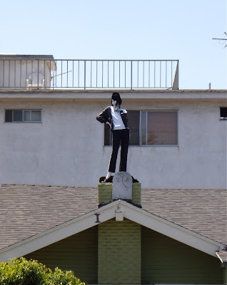 Michael Jackson Hollywood rooftop tribute