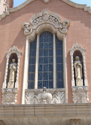 Church of the Blessed Sacrament window Angel