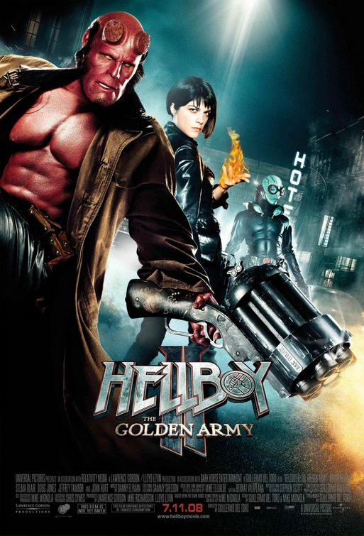 Hellboy II The Golden Army movie poster