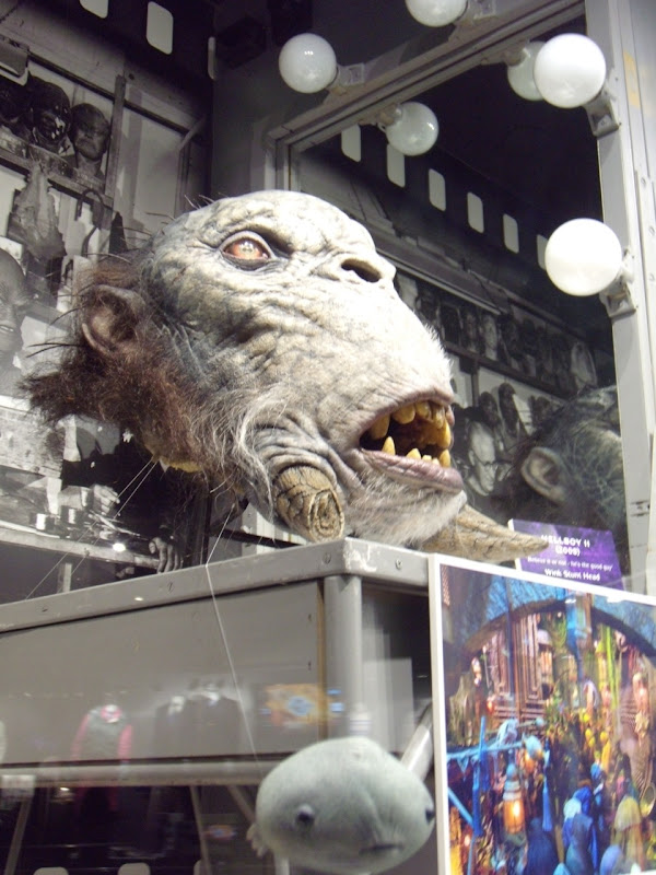 Mr Wink stunt head from Hellboy 2