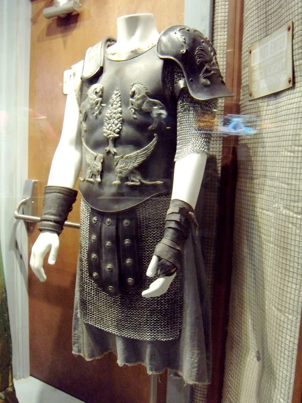 Russell Crowe's Roman Gladiator movie costume