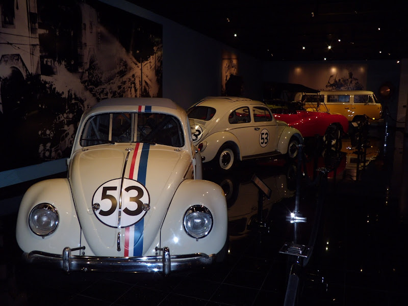 Herbie movie VW Beetles