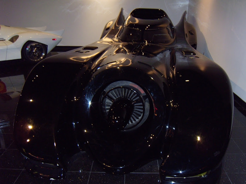 Batman and Batman Returns Batmobile film car