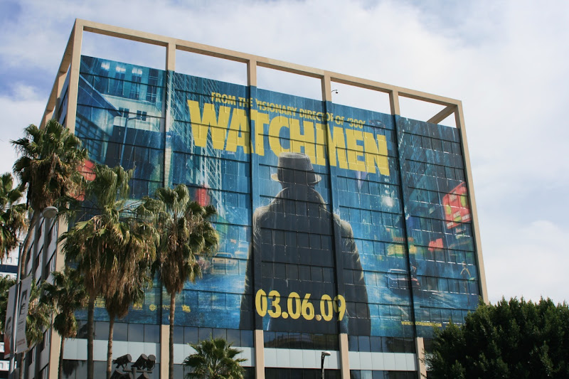 Watchmen movie Rorschach billboard
