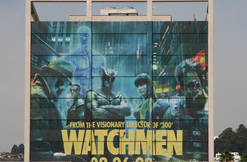 Watchmen team movie billboard