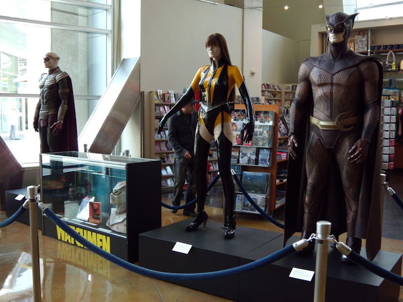 Watchmen original movie costumes and props