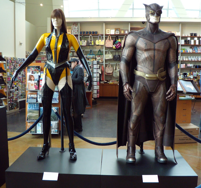 Silk Spectre II and Nite Owl II Watchmen movie costumes
