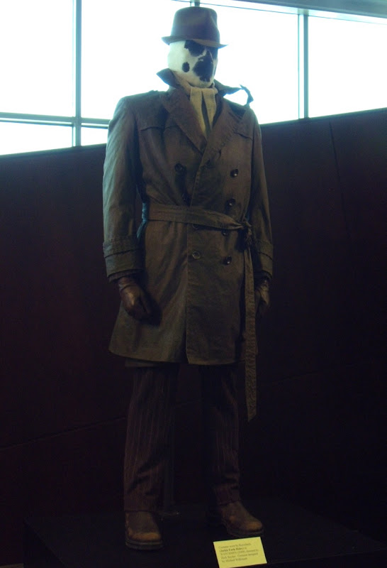 Jackie Earle Haley's Rorschach Watchmen costume