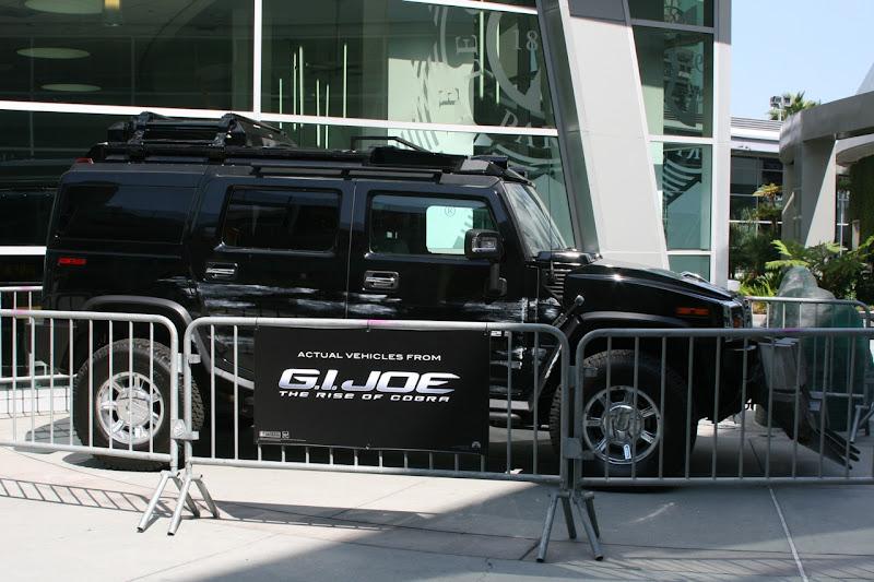GI Joe Rise of Cobra movie vehicle