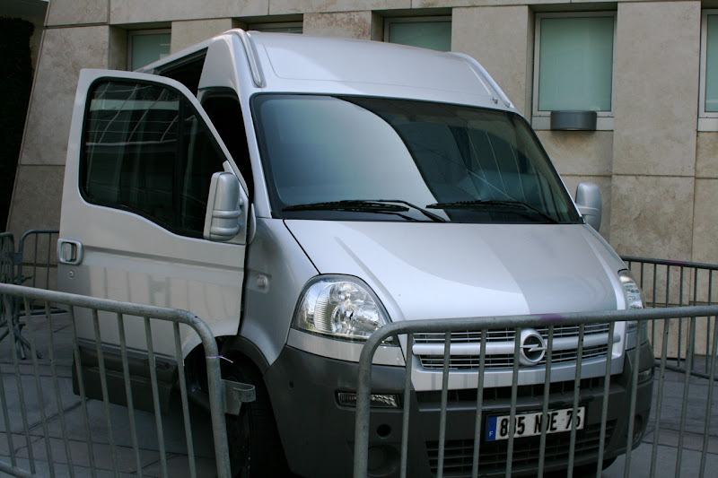 Movano van GI Joe movie vehicle