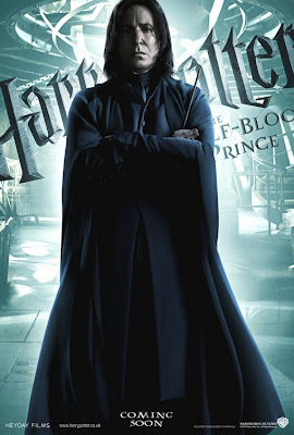 Professor Snape Harry Potter 6 movie poster