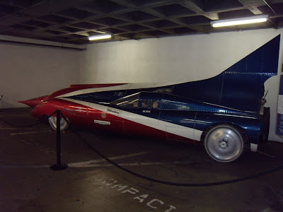 Arfons Green Monster jet car at Petersen Museum