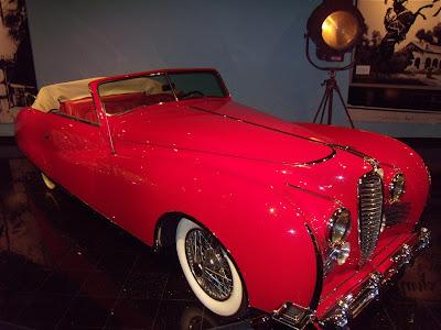Elton John's former 1949 Delahaye car
