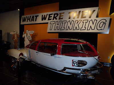 Fascination car at Petersen Museum