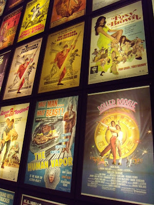 ArcLight Sherman Oaks vintage film poster wall