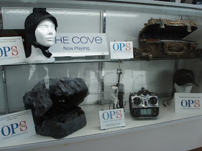 The Cove covert camera equipment