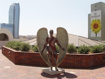 The Glittering Angel by Sue Keane in Downtown LA