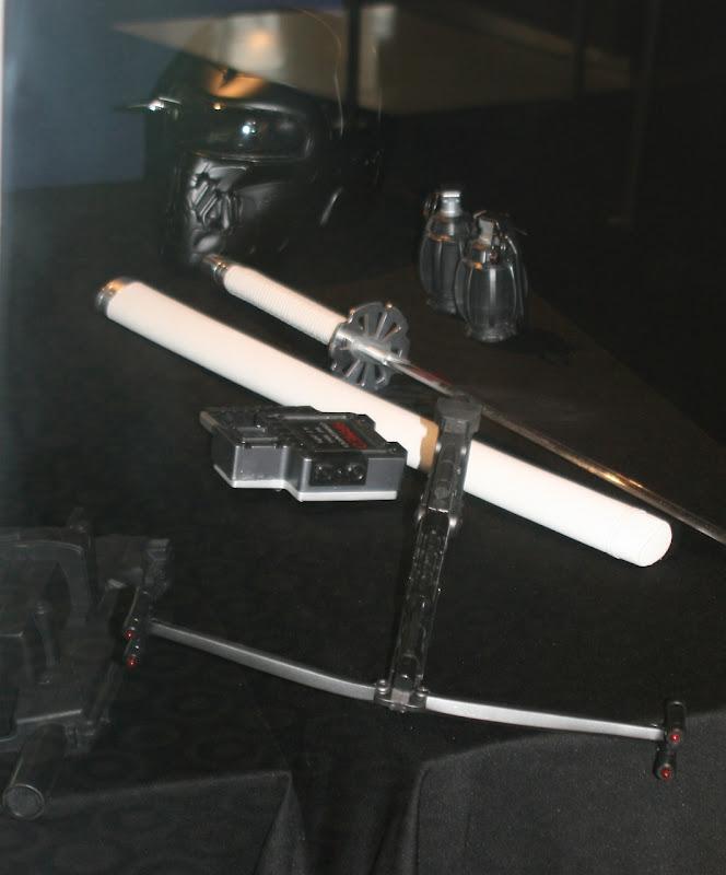 GI Joe movie weapons