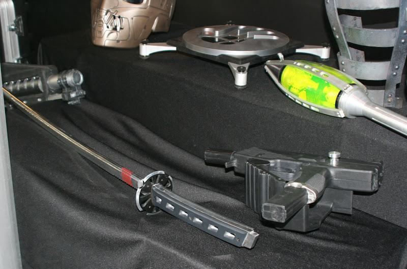 Snake Eyes sword and GI Joe movie props