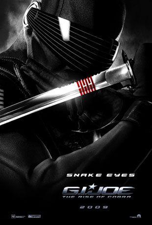 Snake Eyes GI Joe film poster