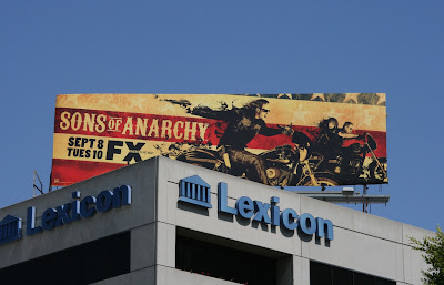 Sons of Anarchy TV Billboard