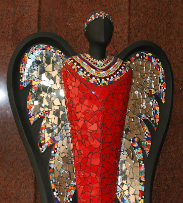 Mzee Wise One angel sculpture