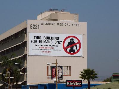 District 9 movie billboard Wilshire Blvd