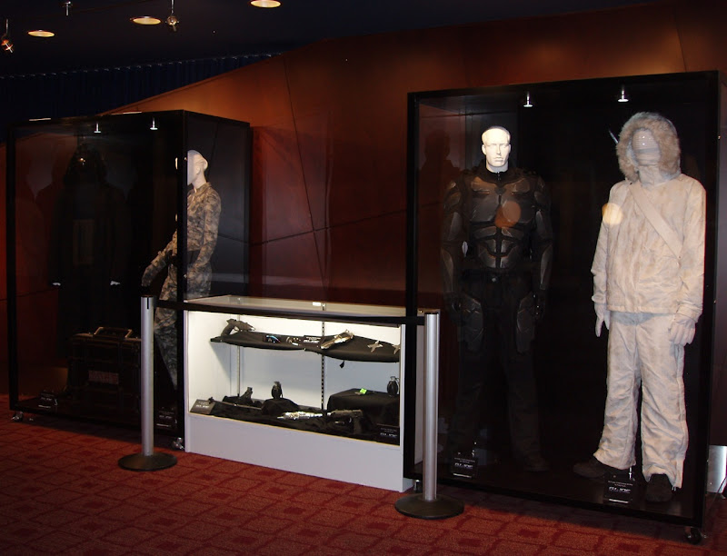 GI Joe movie costume and prop exhibit