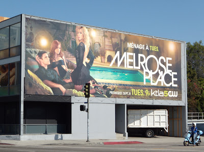 Melrose Place TV show billboard