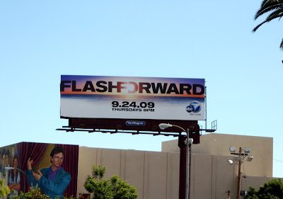 Flashforward TV show billboard