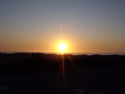 Cambria Californian sunset