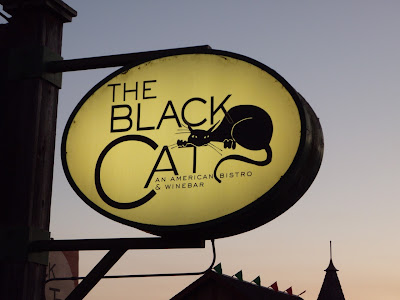 The Black Cat restaurant in Cambria