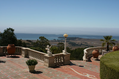 Hearst Castle scenic coastal view