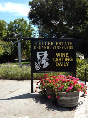 Heller Estate Carmel Valley wine tasting