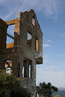 Alcatraz Island ruins