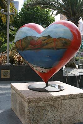 Tony Bennett Golden Gate Bridge Heart