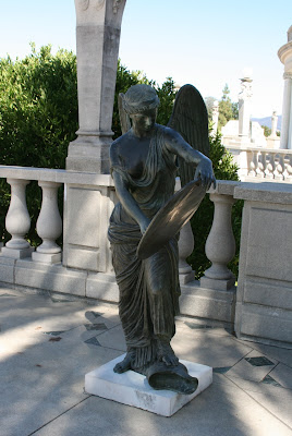 Hearst Castle angel statue