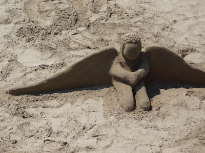 Santa Barbara sand angel