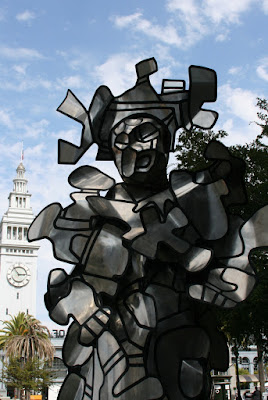 La Chiffoniere sculpture San Francisco