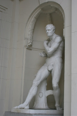 Olympic Club male statue