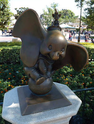 Dumbo sculpture at Disneyland